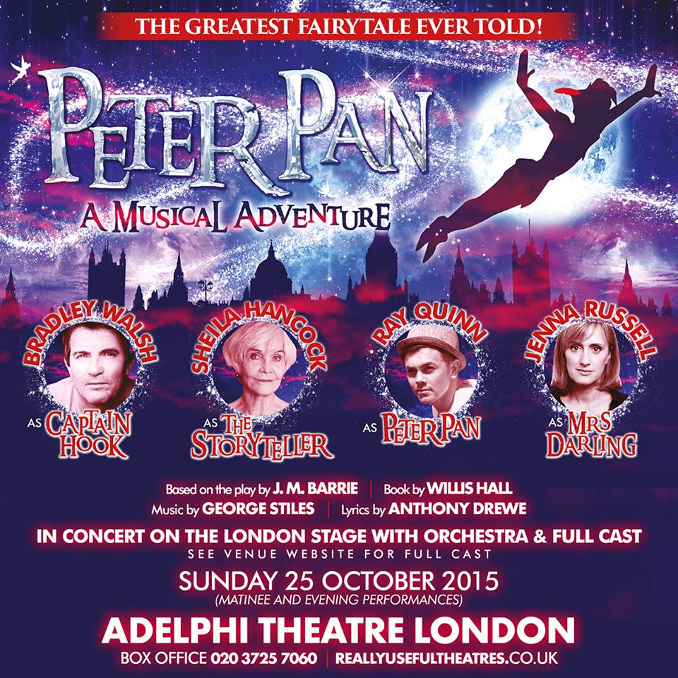 Peter Pan - A Musical Adventure Promo Poster