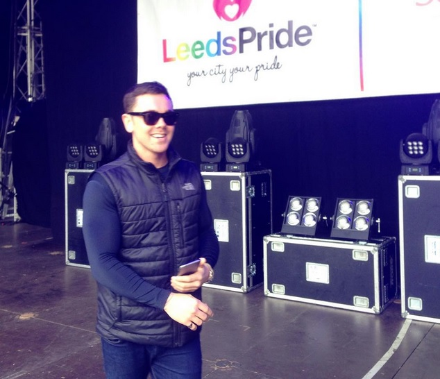 Leeds Pride(02/08/15) Ray at Soundcheck