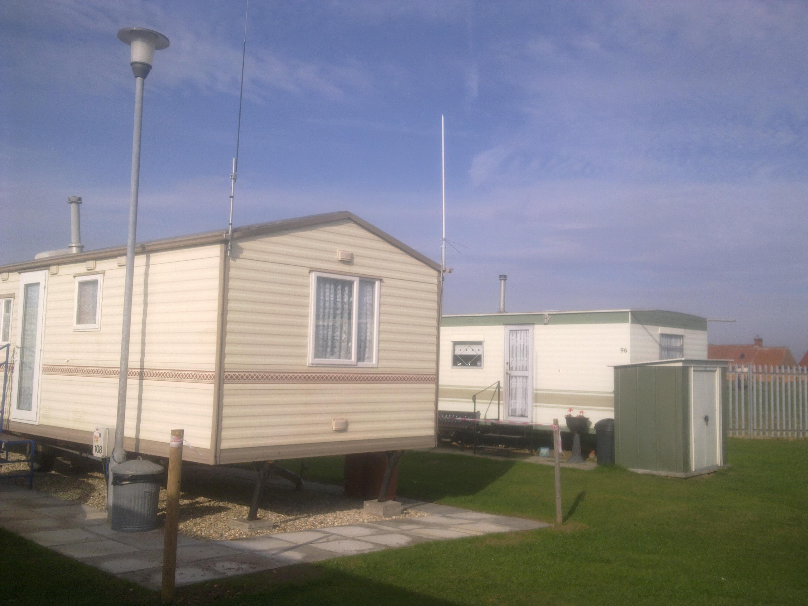 Caravan antennas