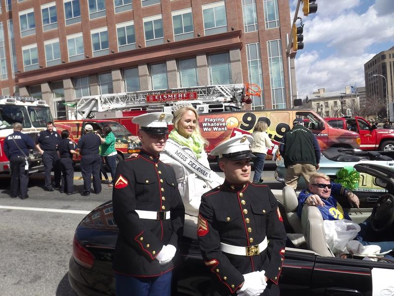 Miss Delaware and a few good men!