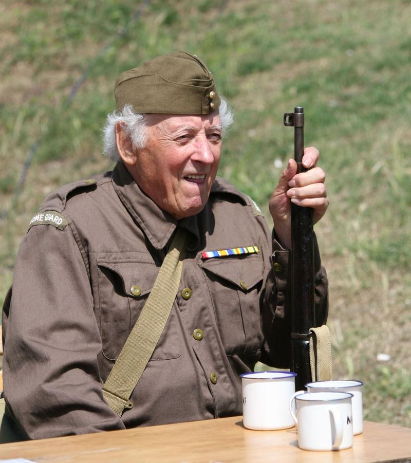 Dads army tea break