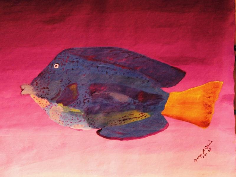 """Blue Surgeonfish"""