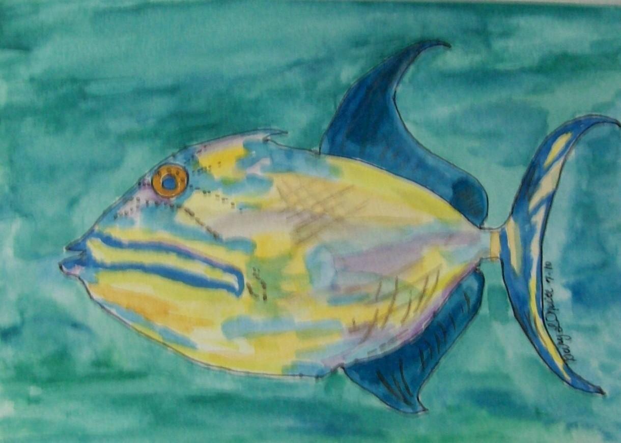 """Queen Triggerfish"""