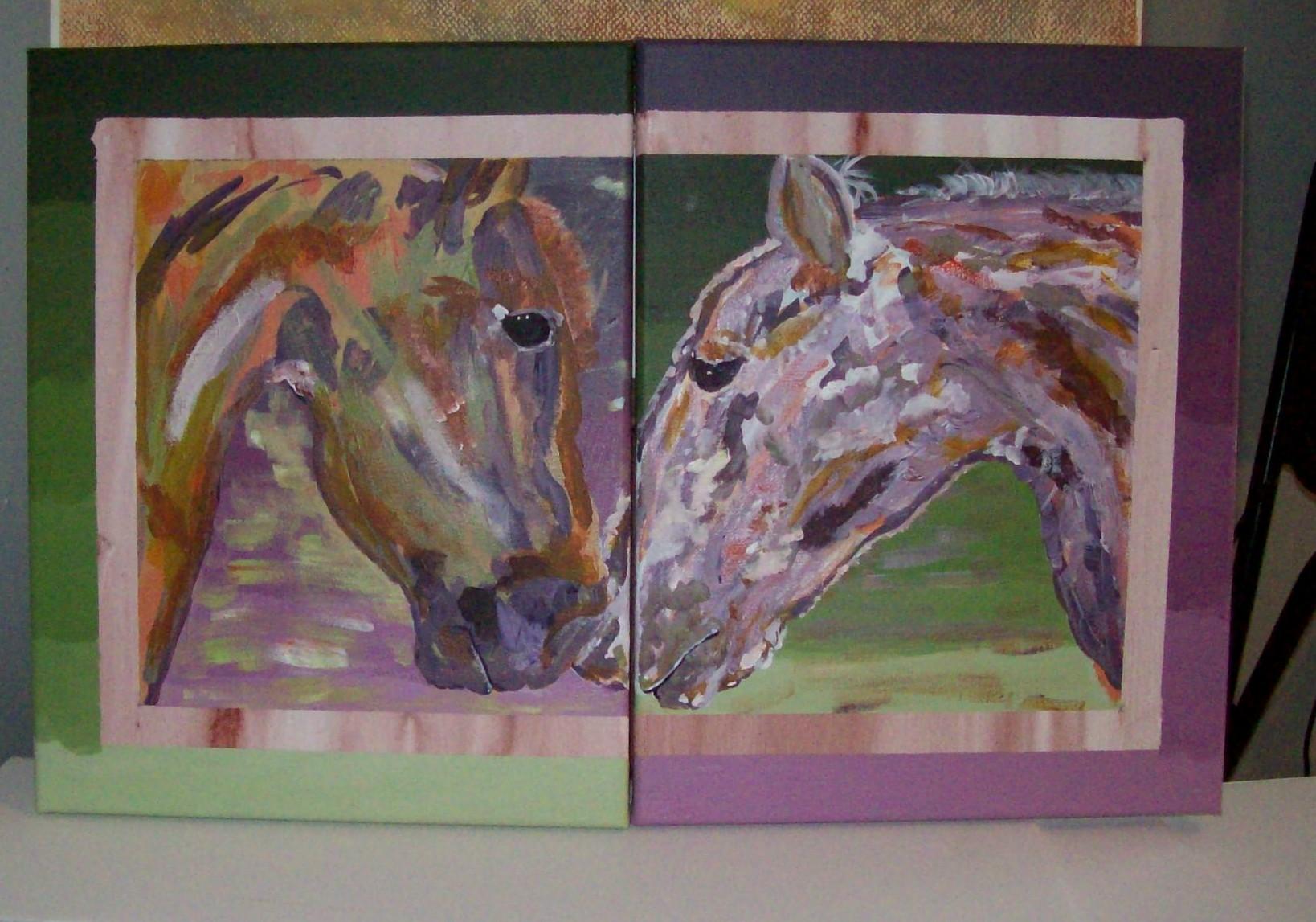 """Horse Couple"""