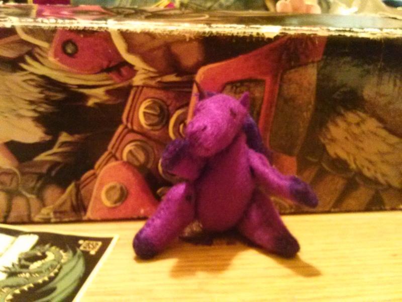 Unicorn Pose 1
