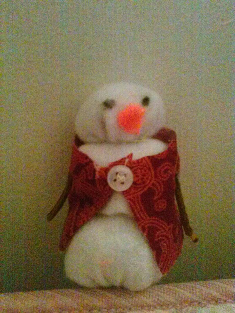 Snowman Plush Complete!