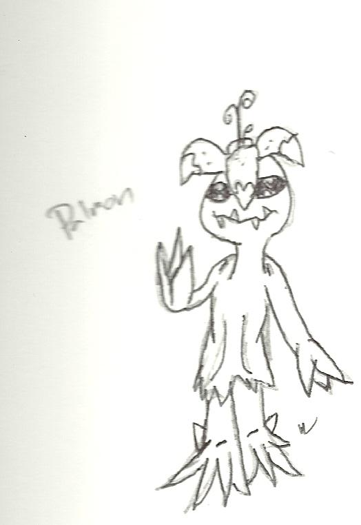 Notebook Doodles: Palmon