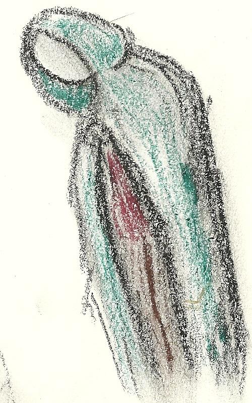 Cloaked Figure