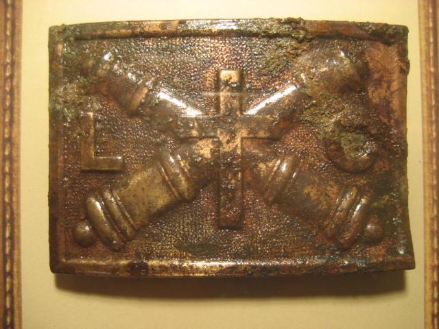 1874 League of the Crosses Cadet belt buckle