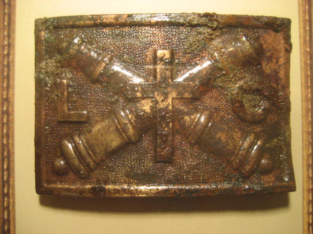 1874 League of the Crosses cadet belt buckle