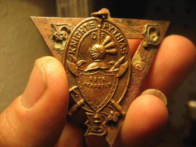 Knights of Pythias Medal