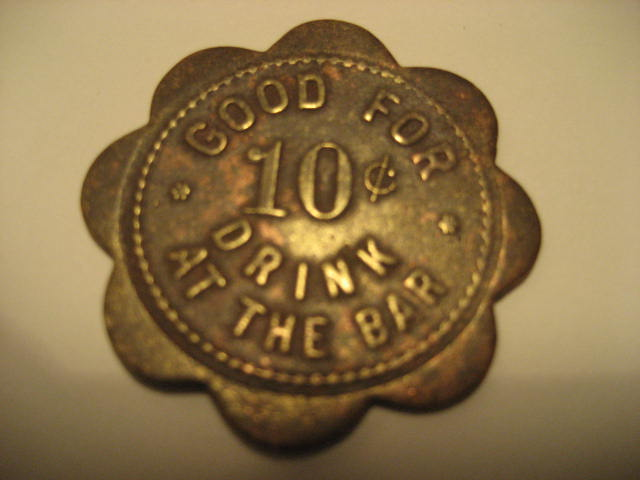 Good for 10 cent trade token