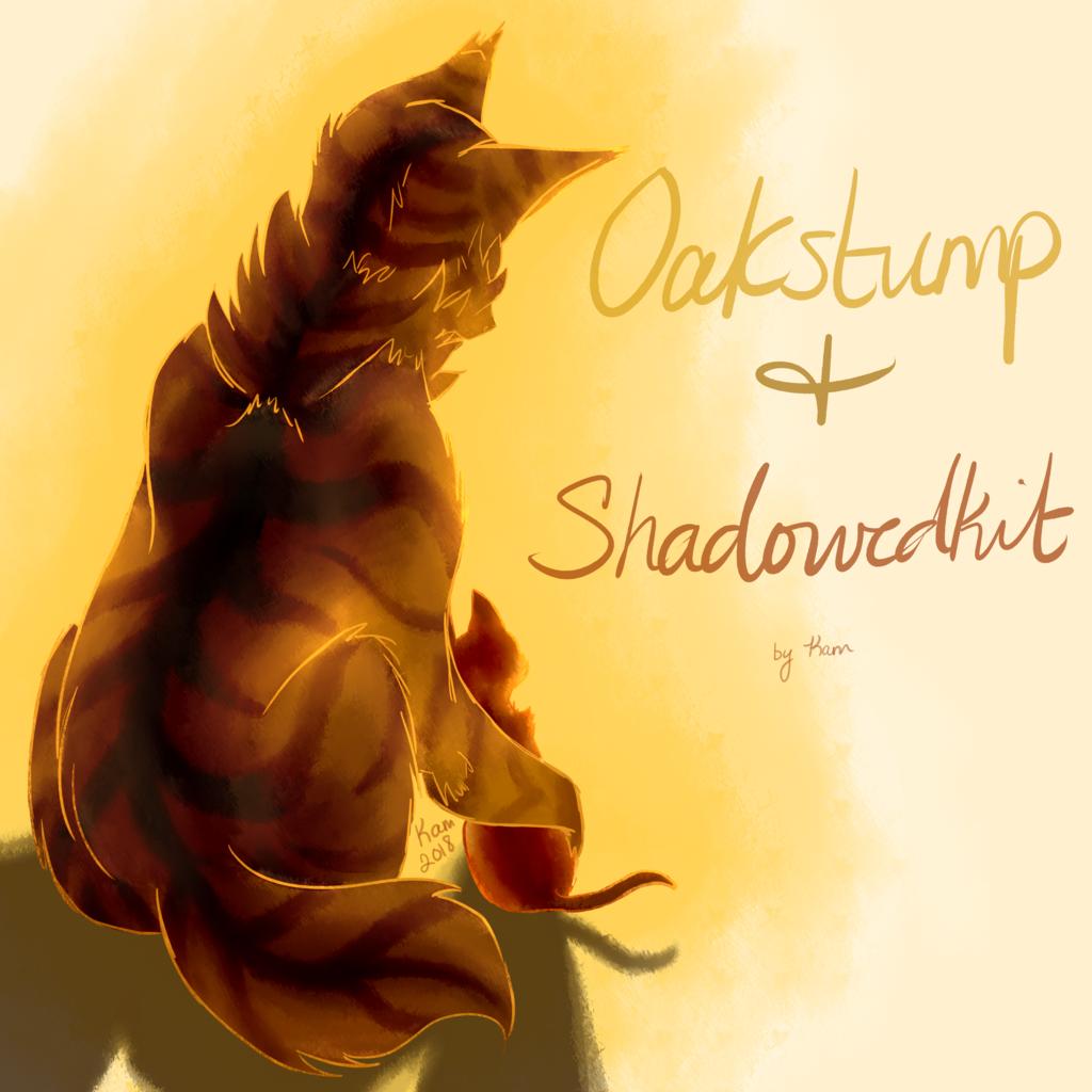 Oakstump and Shadowedkit