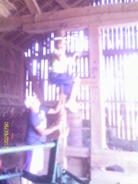 Bethany Ready to do the Zipline