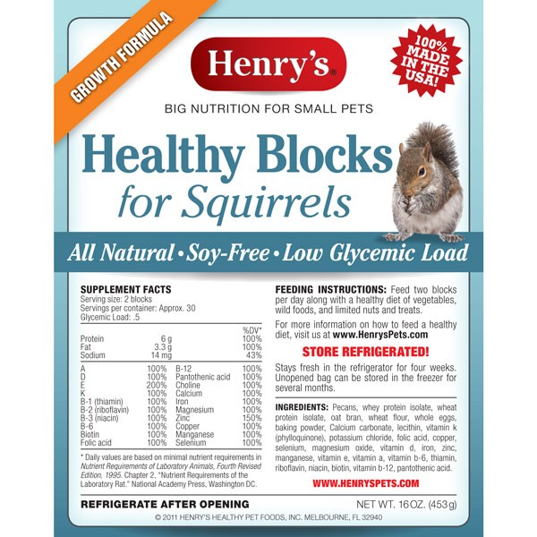 Henry Healthy Block