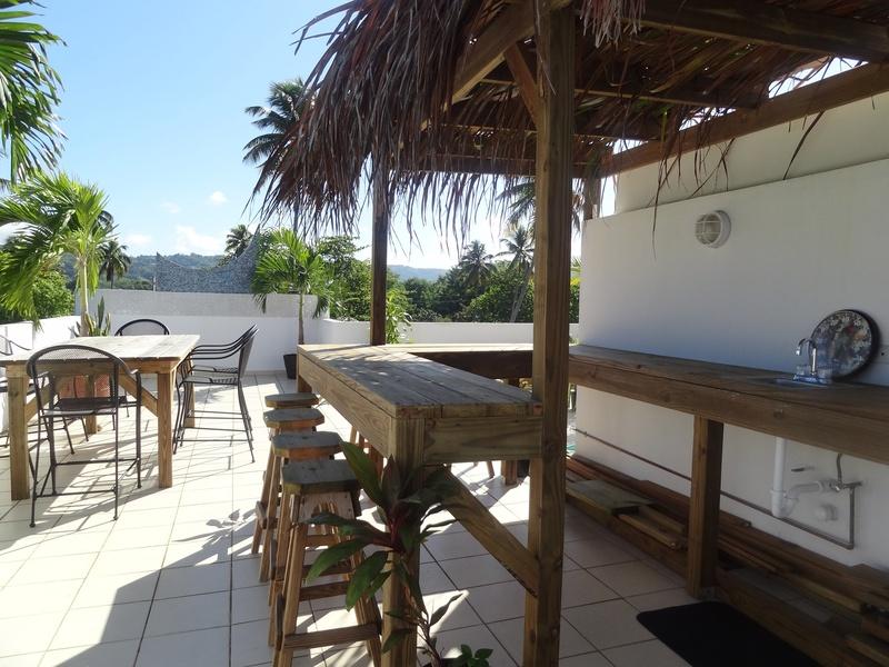 Rooftop garden w/bath