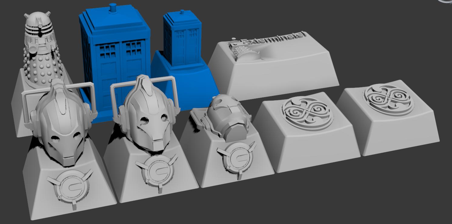 3d Custom keycap sets