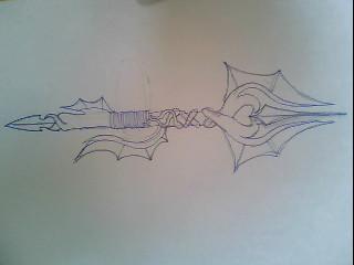 Dragon trident