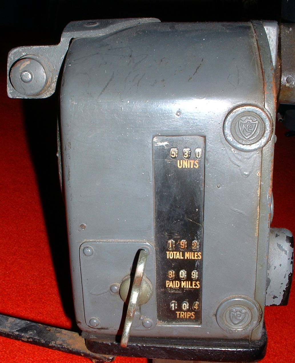 Bell Punch 'GM' Type Taximeter