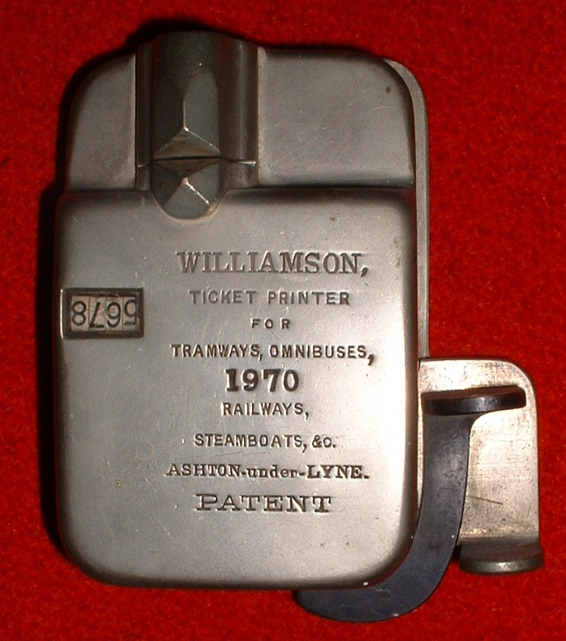 Williamson 'Side Lever' Punch