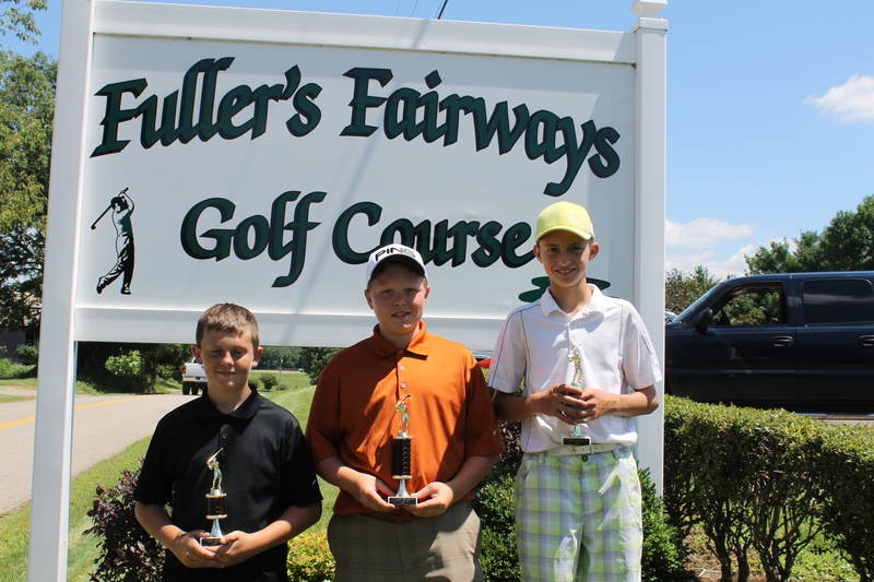 12-13 year olds   9 holes