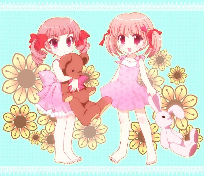 cute anime twin. Twin Anime Baby sisters