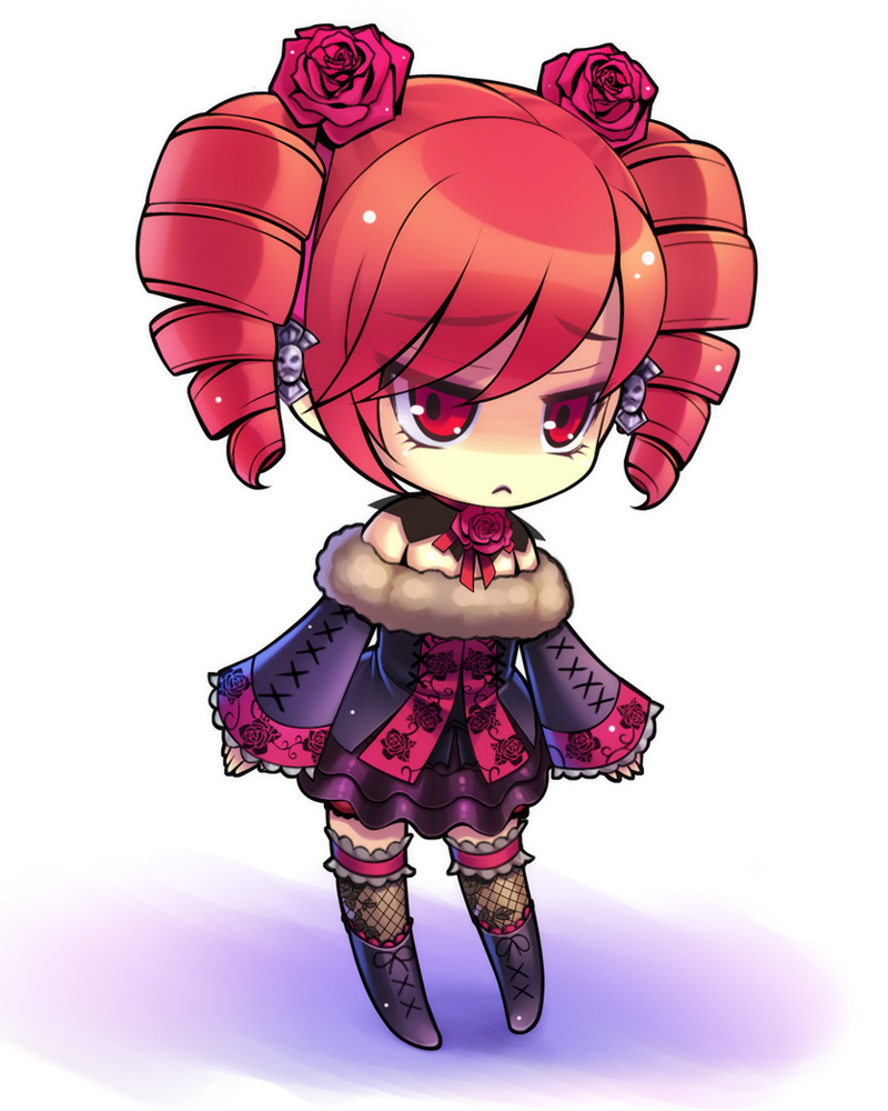 Anime Girl Chibi: Free PSP Themes Wallpaper: Emo Anime Wallpaper