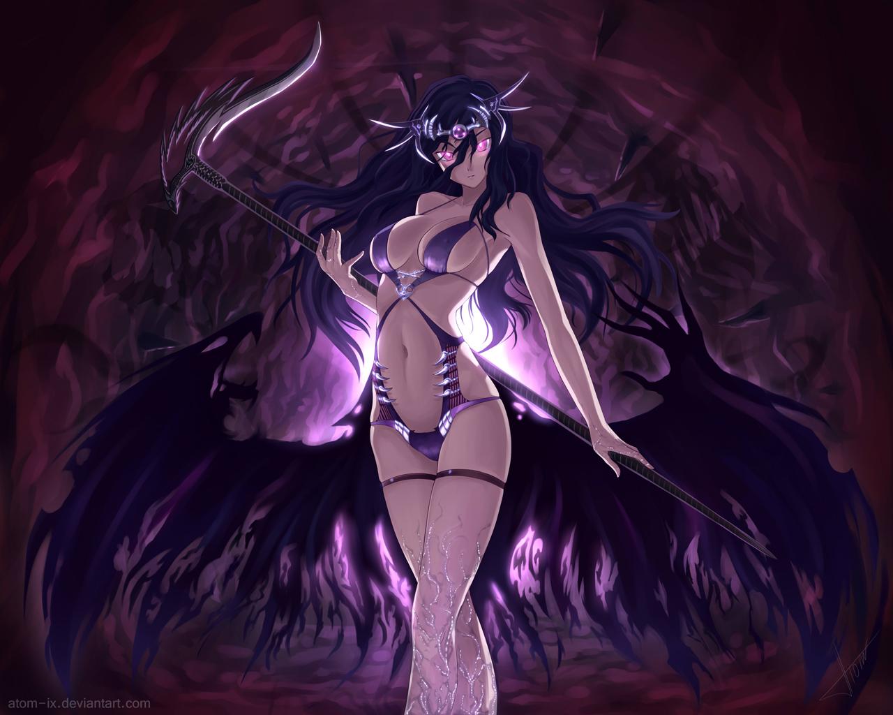 Anime Cute Girl Bikini 115