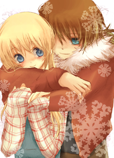 Valentine day 2011 Anime Couple Hugging. This is another lovely anime girl.