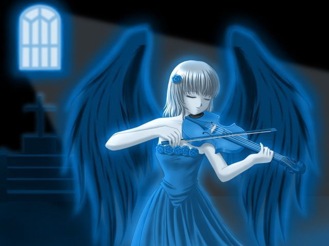 girls with violin