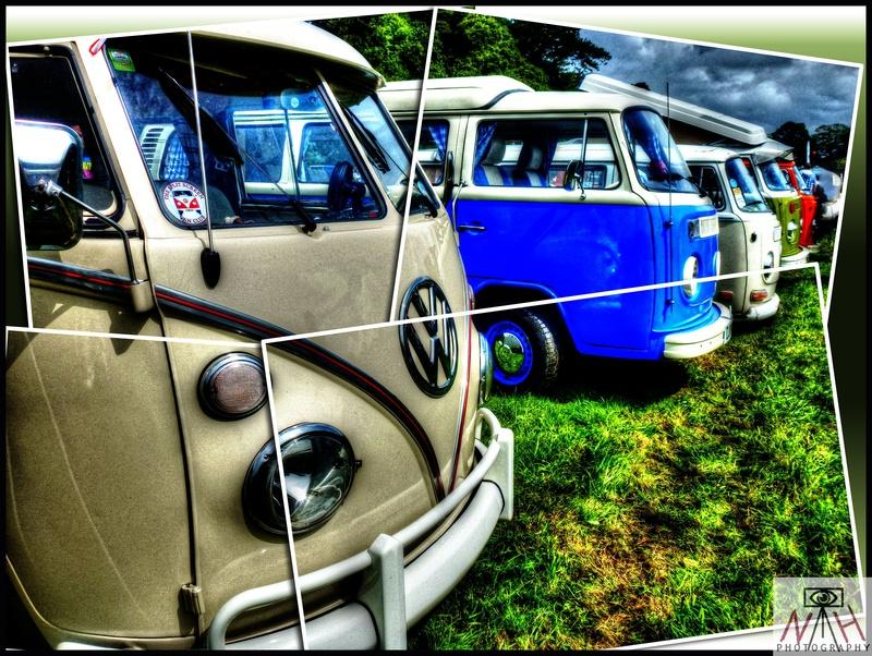 HDR VW buses