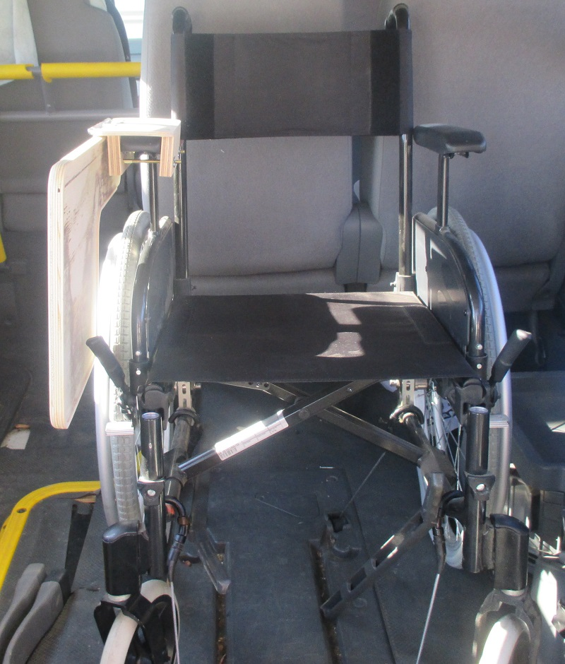 Wheelchair half table
