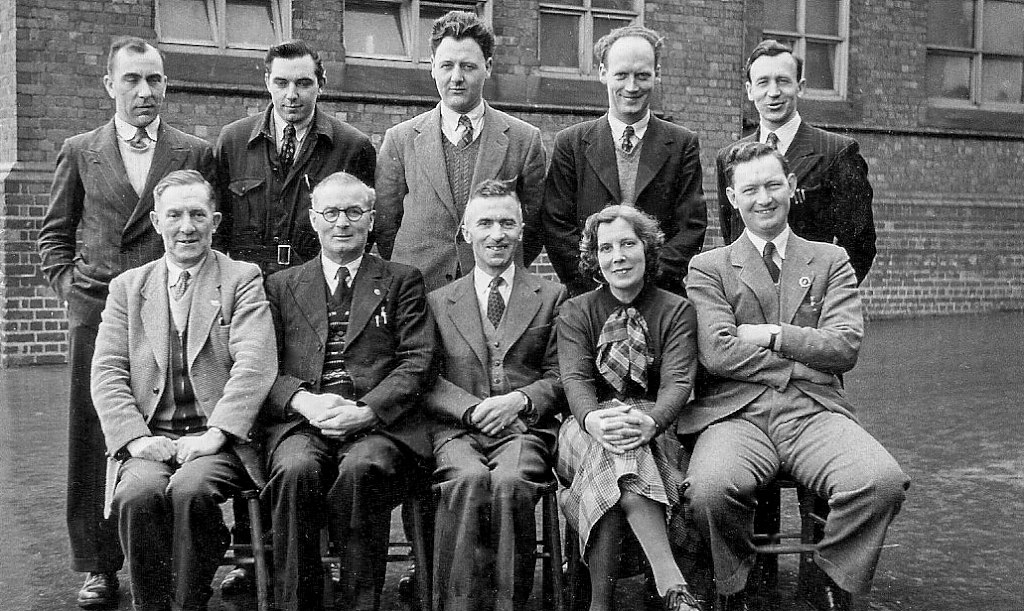 Staff of Robert St Secondary School, early 1950's
