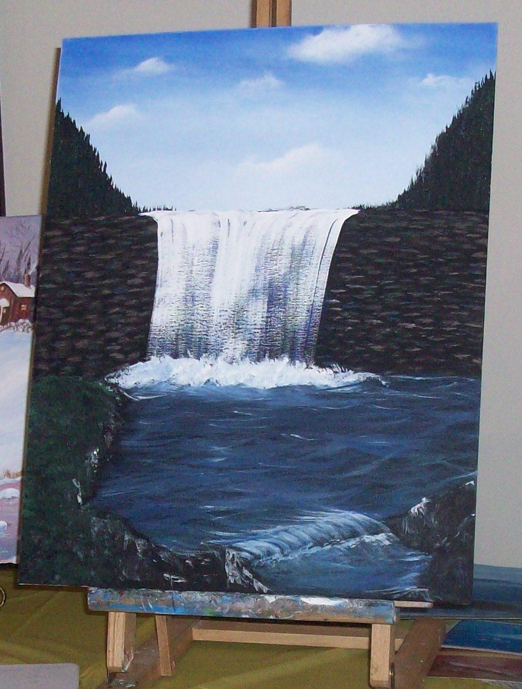 Add Rocks and a small falls.