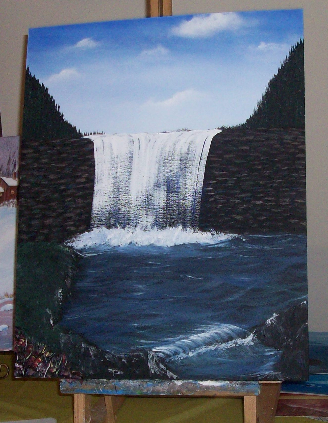 Finished Waterfalls.