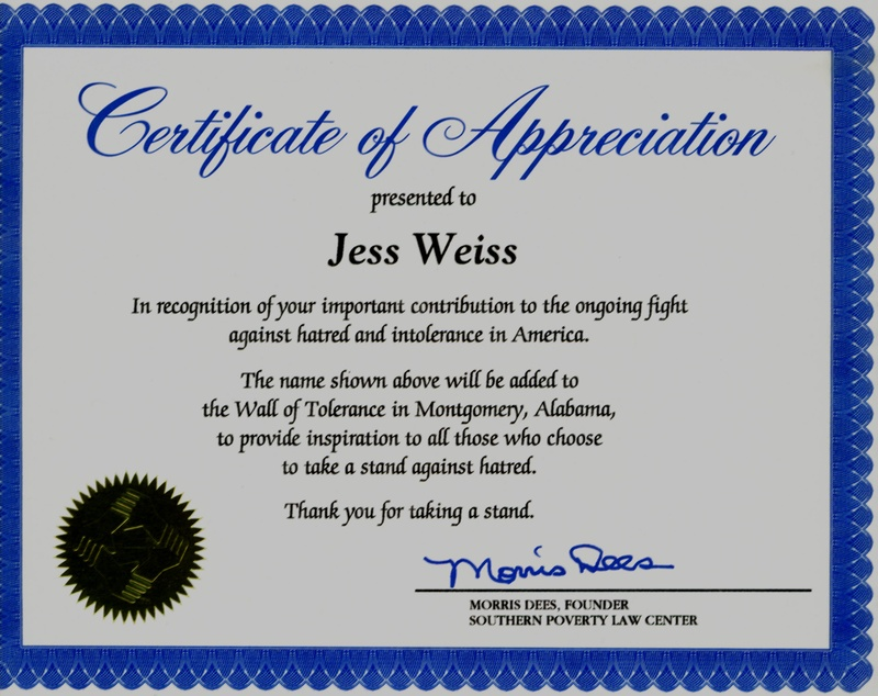 Sample Wording Certificates Appreciation Templates