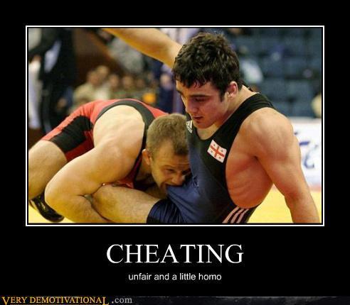 Gay cheater jokes