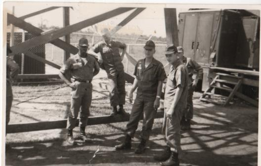 Fellow soldiers at Det 1 USASCC Udorn 1964