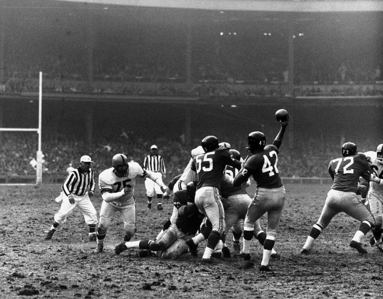Vintage Football Photos 1