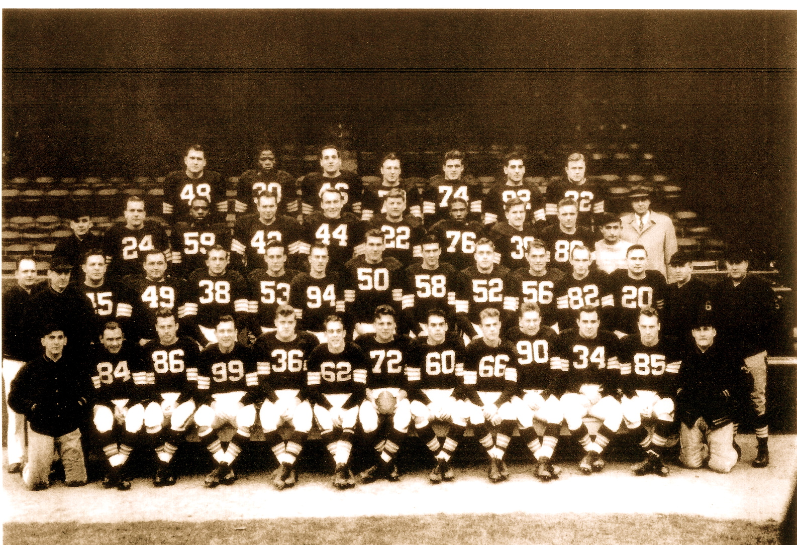 1948 AAFC Champions- Cleveland Browns