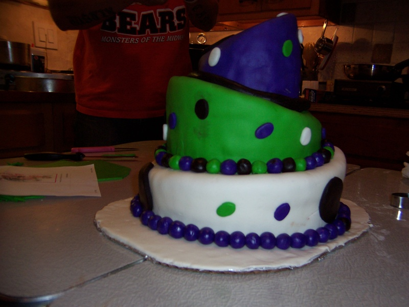 Mad Hatter Cake II