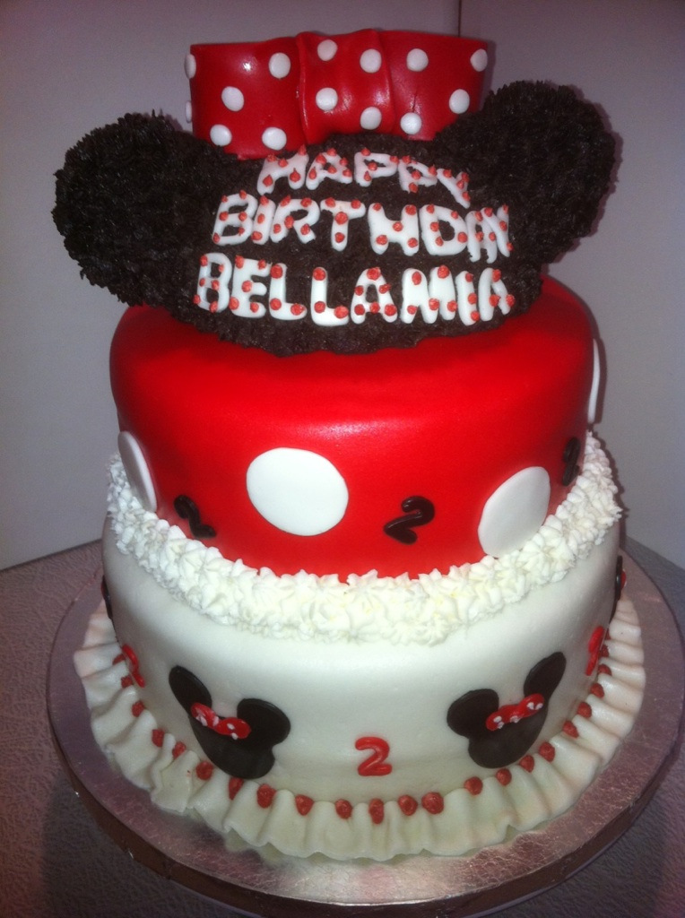 Minnie Mouse 3 Tier