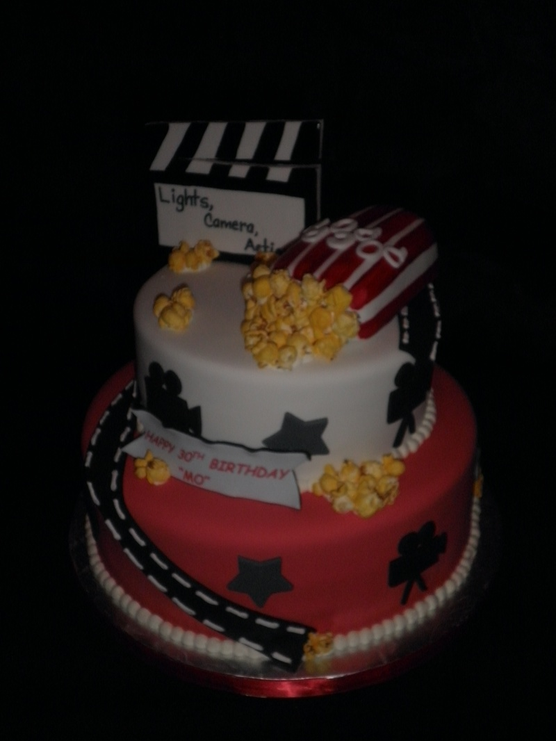 Themed Birthday Cake - Movie themed birthday cake