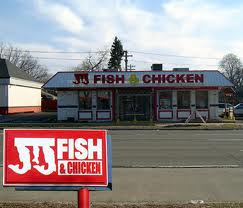 JJ Fish & Chicken 14th& Lewis , 1327 S Lewis Ave , Waukegan, Illinois, 60085, United States