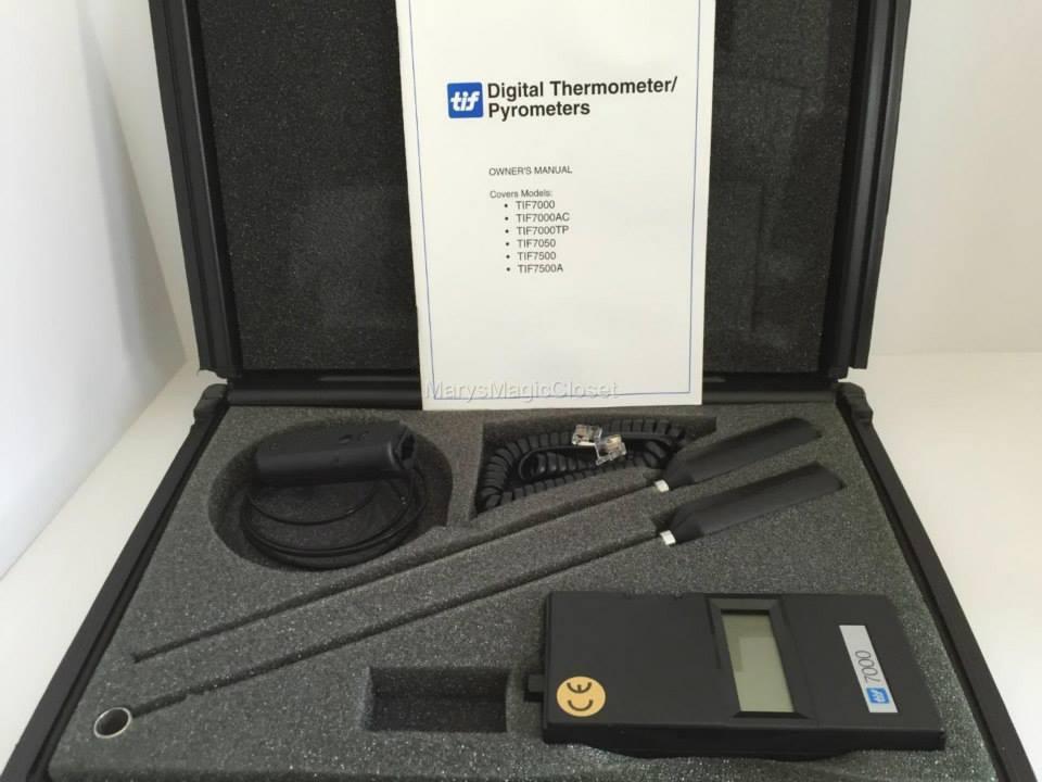 Digital Thermometer/Pyrometer