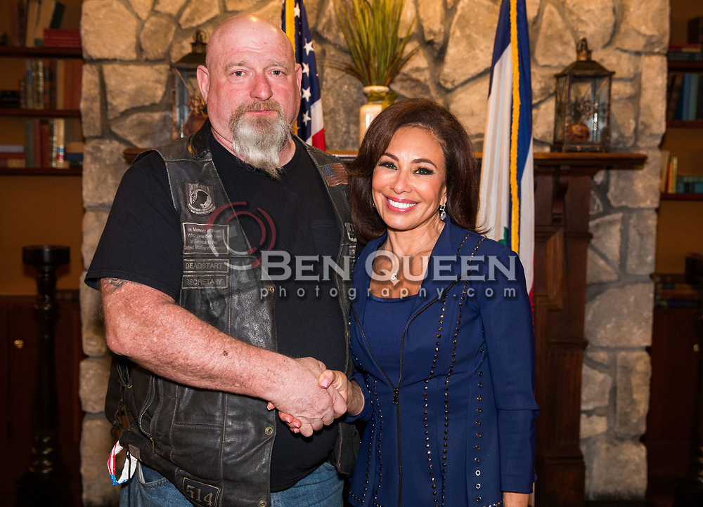 Ron Wine with Judge Jeanine