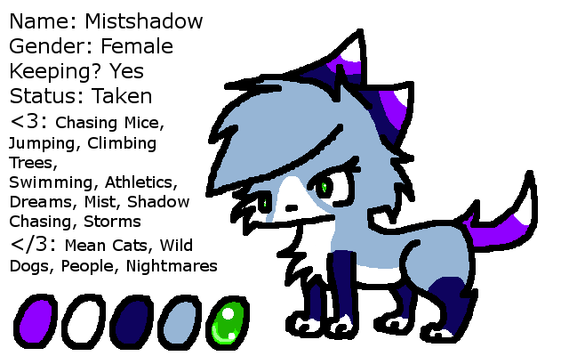 Mistshadow Reference