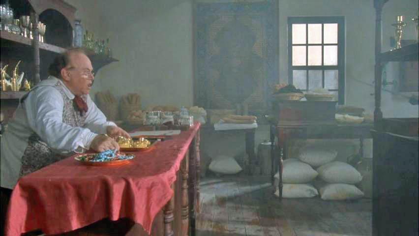 David as Silas Bridges in Blackbeard