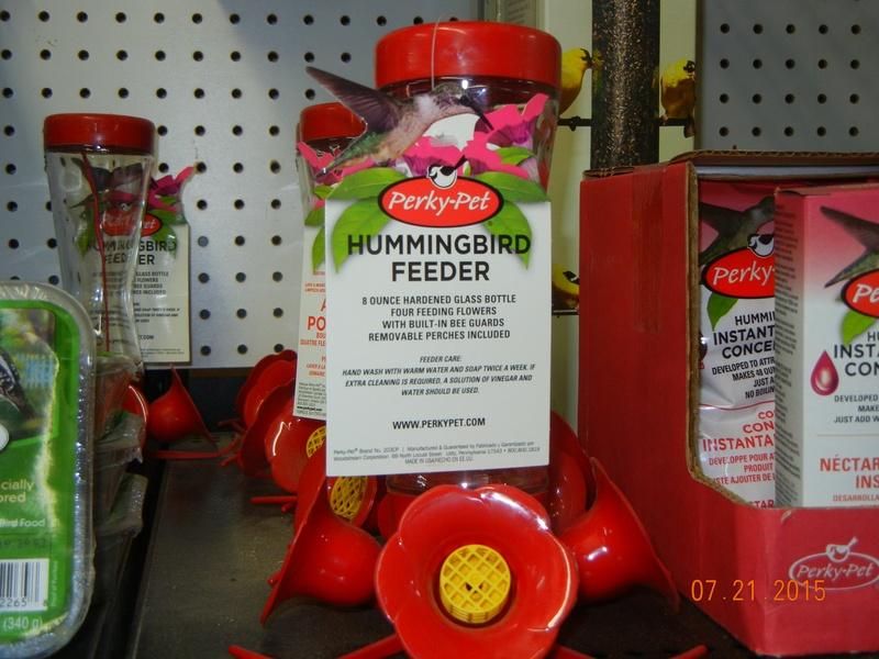 Hummingbird Feeders and Feed