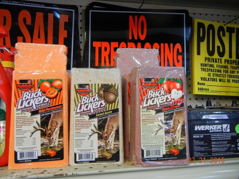 Deer Salt Bricks and Salt Blocks